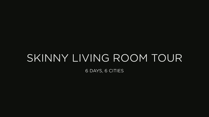 The Skinny Living Room Tour Highlights