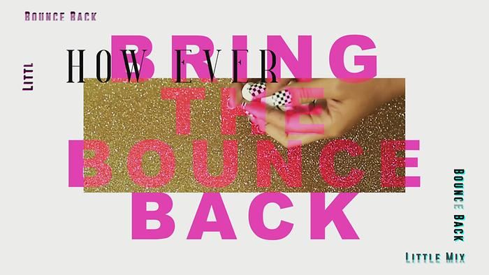 Bounce Back Lyric Video