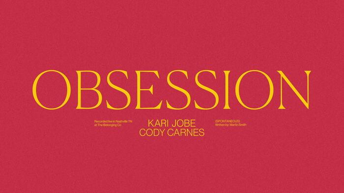 Obsession Spontaneous  Audio  Live