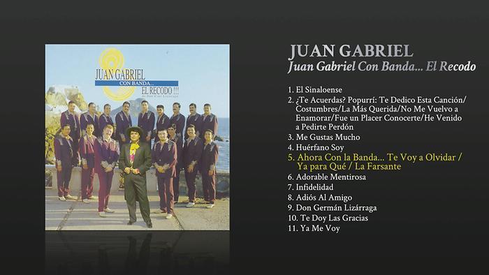 Ahora Con la Banda Te Voy a Olvidar  Ya para Qué  La Farsante Cover Audio