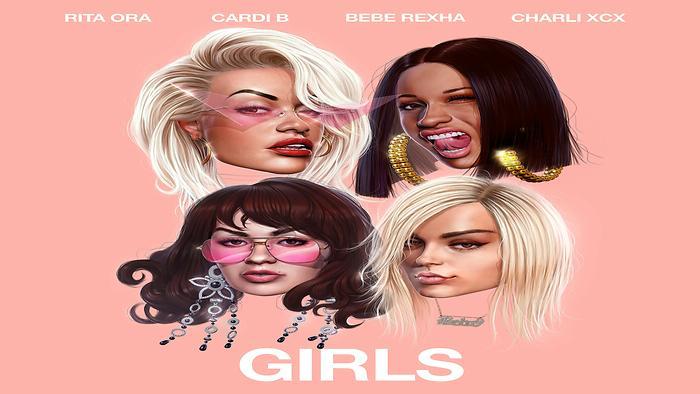 Girls feat Cardi B Bebe Rexha  Charli XCX Official Lyric Video