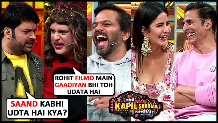 Krushna Abhishek HILARIOUS Comedy With Akshay KumarKatrinaRohit Shetty  The Kapil Sharma Show