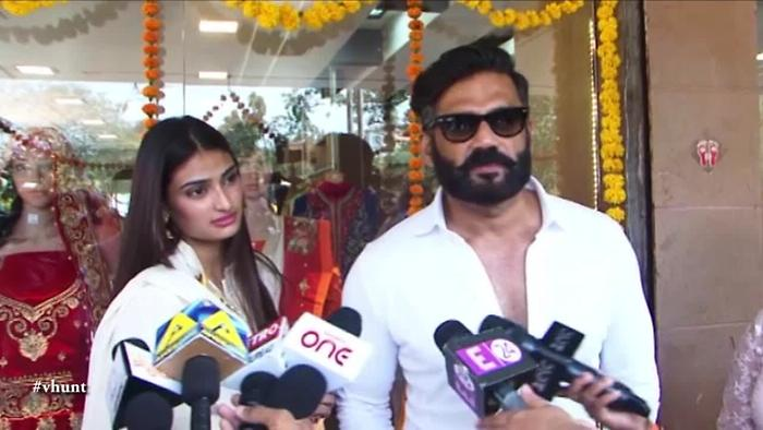 Suniel Shetty Wants To Do Film With Aathiya