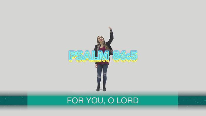 Psalm 865 Dance Lyric Video