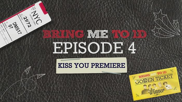 BRING ME TO 1D KISS YOU PREMIERE